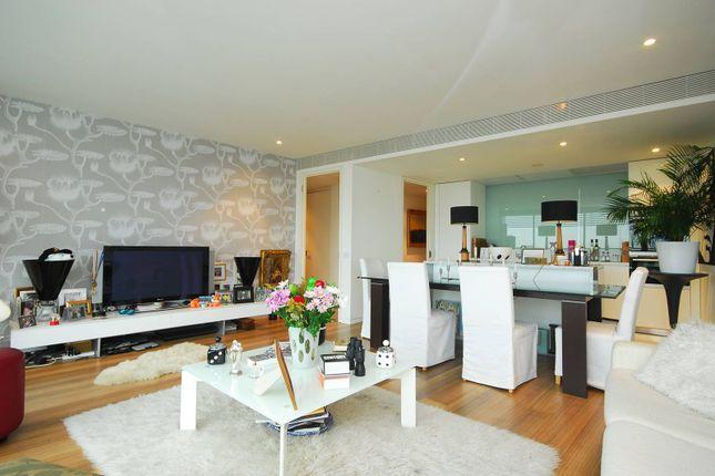 Thumbnail Flat to rent in Albion Riverside, Battersea