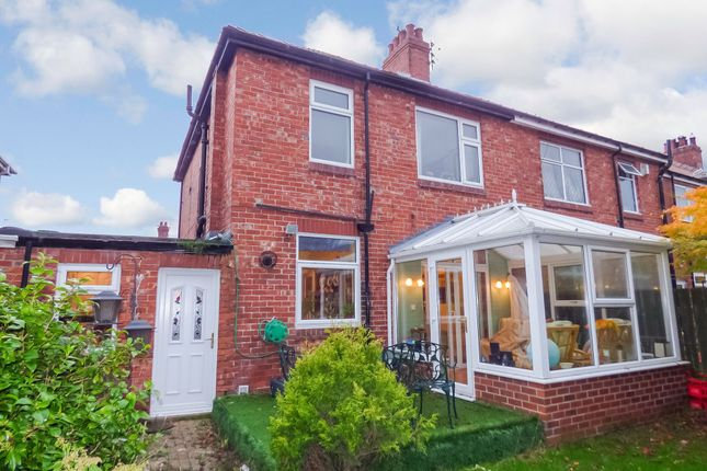 Thumbnail Semi-detached house for sale in Hirst Villas, Bedlington
