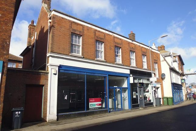 Thumbnail Retail premises to let in 8 High Street, Dereham, Norfolk