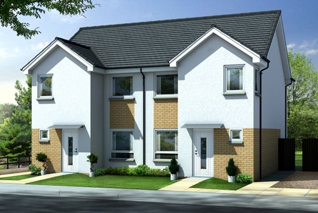 Thumbnail Semi-detached house for sale in Lawson Avenue, Motherwell