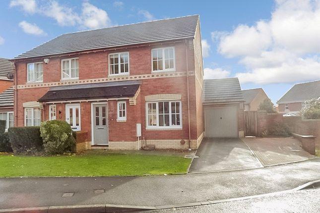 Thumbnail Semi-detached house for sale in Islawen Meadows, Pencoed, Bridgend.