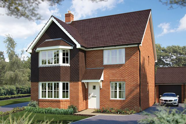 "Thumbnail Detached house for sale in ""The Oxford"" at Maddoxford Lane, Botley, Southampton"