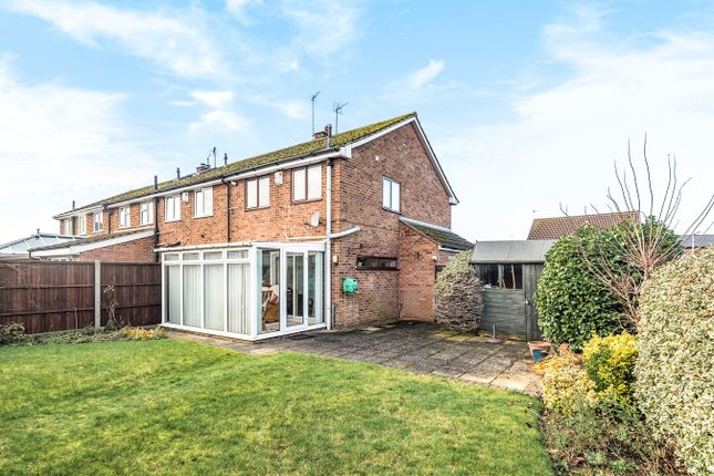 Thumbnail End terrace house for sale in Tyburn Lane, Westoning