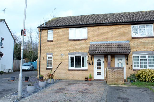 1 bed terraced house for sale in Vincenzo Close, North Mymms, Hatfield AL9