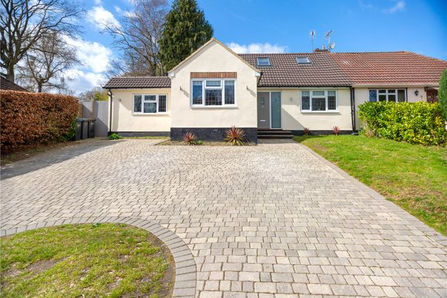 Thumbnail Semi-detached bungalow for sale in Harpesford Avenue, Virginia Water, Surrey