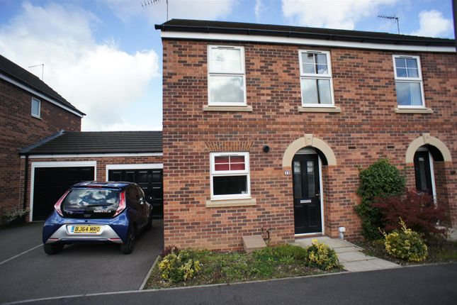 Thumbnail Semi-detached house to rent in Thornhill Avenue, Belper