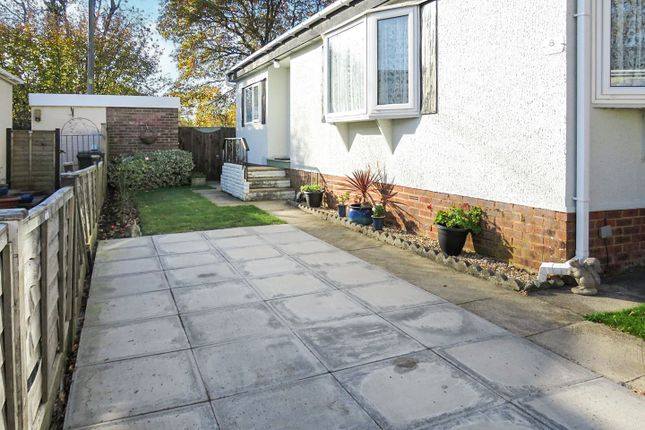 Driveway of Glen Mobile Home Park, Colden Common, Winchester SO21
