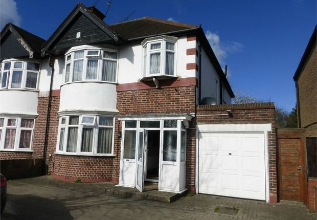 Thumbnail Semi-detached house for sale in Great West Road, Isleworth, Middlesex