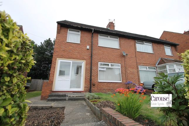 Thumbnail Semi-detached house to rent in Ventnor Gardens, Gateshead