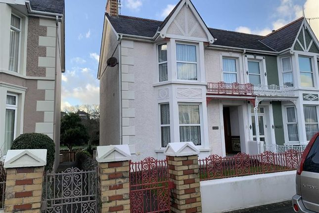 Thumbnail Semi-detached house for sale in South Road, Aberaeron, Ceredigion