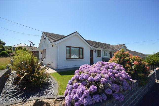 Thumbnail Semi-detached bungalow for sale in 1 Heol Y Garreg, Pontgarreg, Llandysul