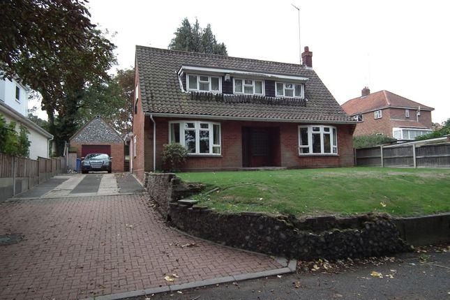 Thumbnail Detached bungalow for sale in 25 Hellesdon Road, Norwich, Norfolk
