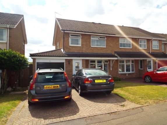 Thumbnail Semi-detached house for sale in Lumsden Close, Coventry