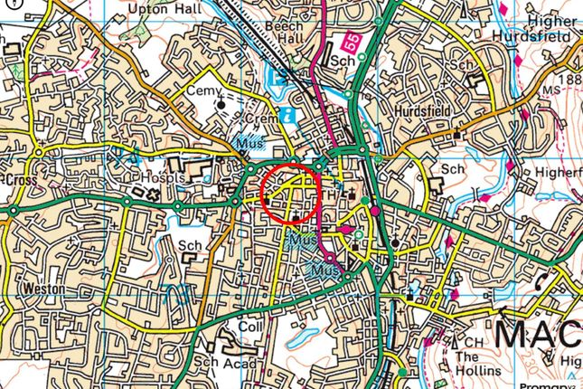 Location Maps of Catherine Street, Macclesfield, Cheshire SK11