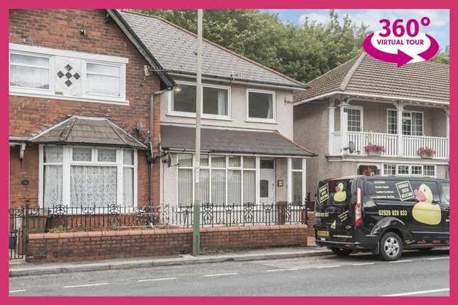 Thumbnail End terrace house for sale in Risca Road, Cross Keys, Newport