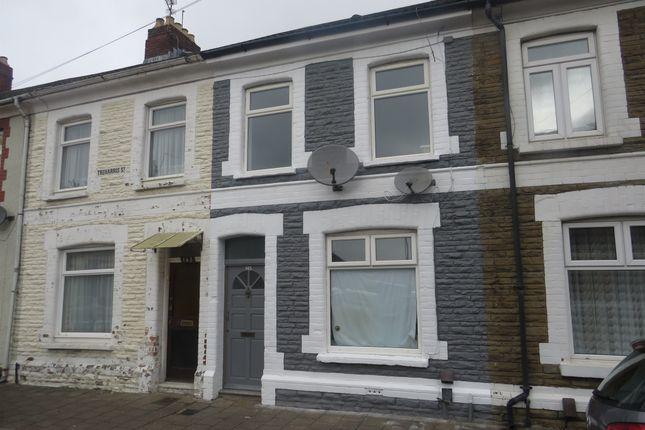 Thumbnail 2 bed terraced house for sale in Treharris Street, Roath, Cardiff