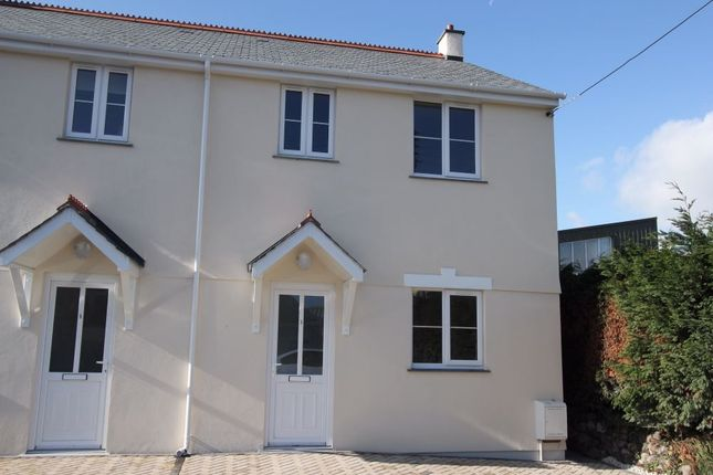 Thumbnail Semi-detached house to rent in Bucklers Lane, Holmbush, St Austell, Cornwall