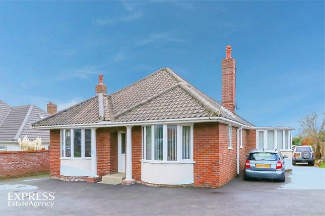 Thumbnail Detached bungalow for sale in Norwich Road, Norwich, Norfolk
