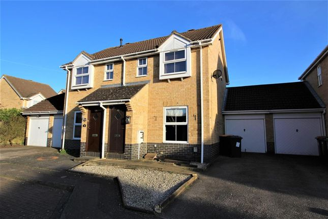 Thumbnail Semi-detached house for sale in The Cloisters, Bedford