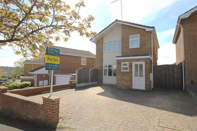 Thumbnail Detached house for sale in Home Farm Drive, Allestree, Derby