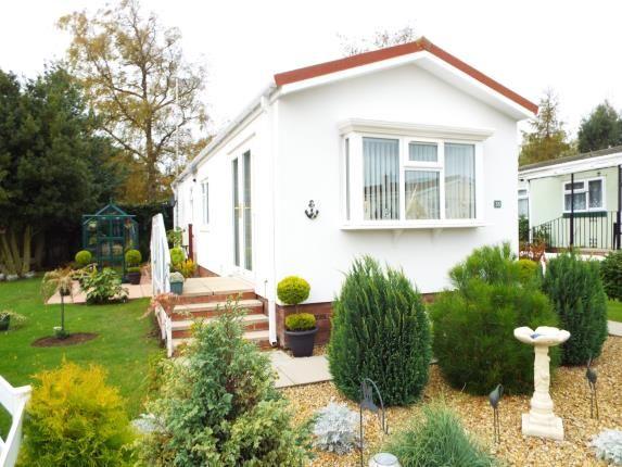 Thumbnail Mobile/park home for sale in Station Road, Snettisham, King's Lynn