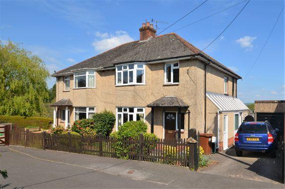 Thumbnail Semi-detached house for sale in Park Close, Tiverton
