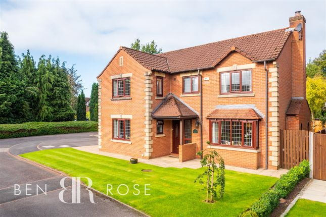 Thumbnail Detached house for sale in Beechfield Court, Leyland