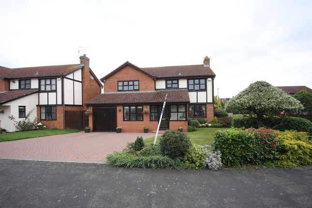 Thumbnail Detached house for sale in Drayton Close, Bidford On Avon