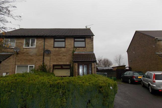 Thumbnail Semi-detached house to rent in Farmhouse Way, Caerau, Cardiff.