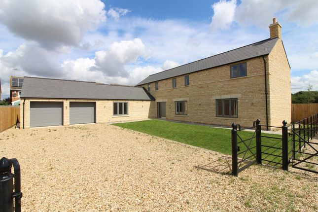 Thumbnail Detached house for sale in Church Street, Northborough, Peterborough