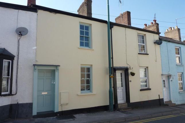 Thumbnail Terraced house to rent in Lower Church Street, Chepstow