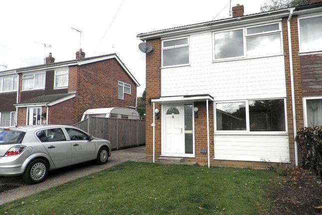 Thumbnail Semi-detached house to rent in Morton Road, Aylsham, Norwich