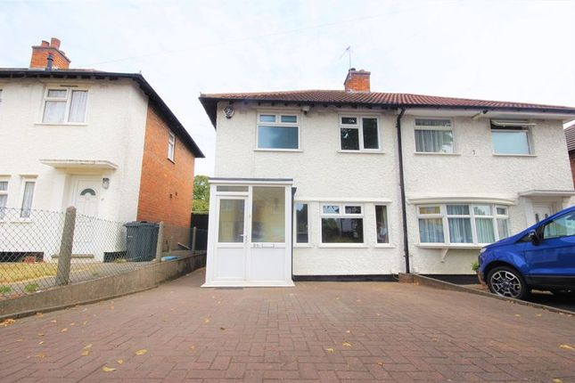 Thumbnail Semi-detached house to rent in Spring Road, Tyseley, Birmingham