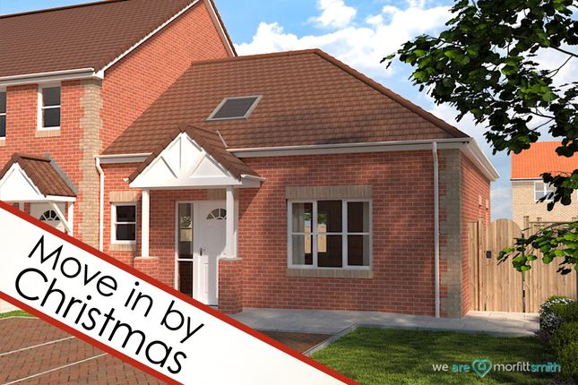Thumbnail Terraced bungalow for sale in The Goldcrest, Plot 9, Bloomhill Court, Moorends, - Viewing Essential