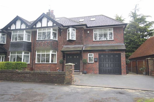 Thumbnail Semi-detached house for sale in Greenleach Lane, Worsley, Manchester