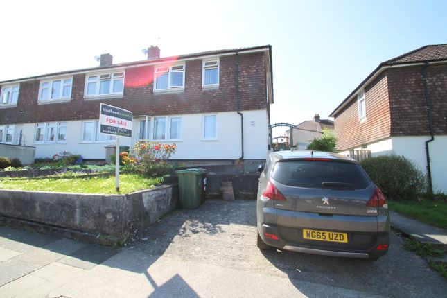Thumbnail Flat for sale in Rothesay Gardens, Crownhill, Plymouth