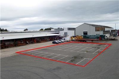 Thumbnail Land to let in Yard Space/Land, Rackery Lane, Llay, Wrexham, Wrexham