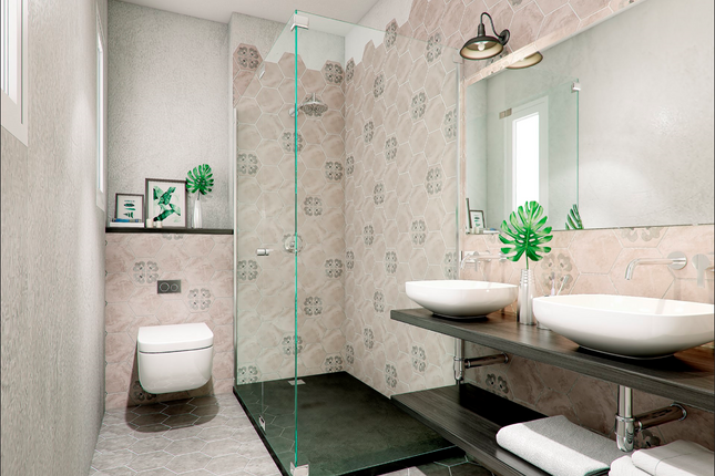Bathroom of Eixample, Barcelona (City), Barcelona, Catalonia, Spain