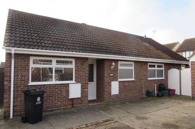 Thumbnail Semi-detached bungalow to rent in Hampstead Avenue, Clacton-On-Sea