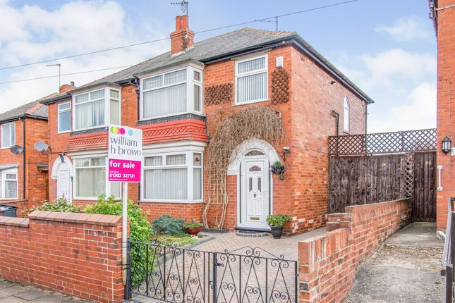 Thumbnail Semi-detached house for sale in Bramworth Road, Old Hexthorpe, Doncaster
