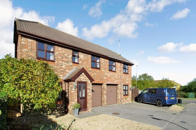 Thumbnail Detached house for sale in Stanier Way, Hedge End, Southampton