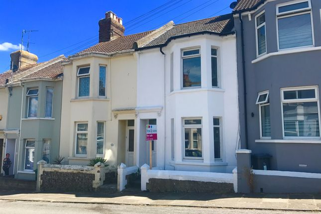 3 bed terraced house for sale in Lawes Avenue, Newhaven
