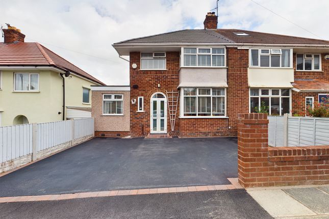 Thumbnail Semi-detached house for sale in Gleggside, West Kirby, Wirral