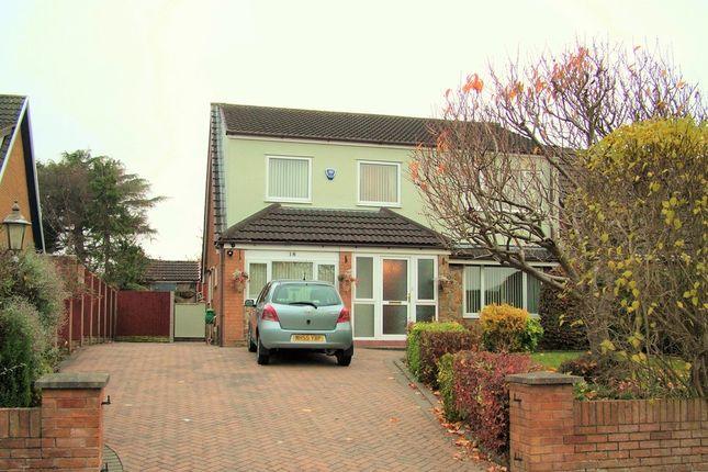 Thumbnail Detached house for sale in Castle Park Avenue, Connah's Quay, Deeside