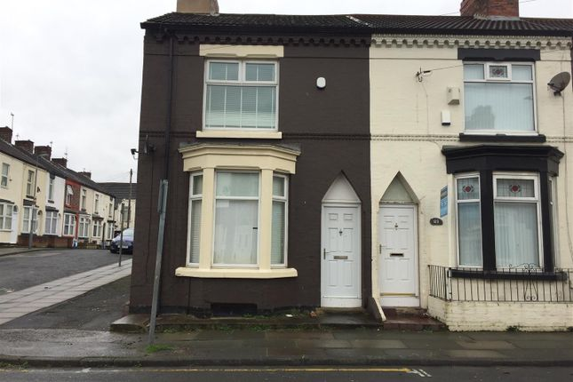Thumbnail End terrace house to rent in Makin Street, Walton, Liverpool