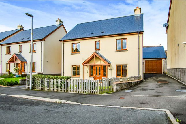 Thumbnail Detached house for sale in Coppins Park, Saundersfoot