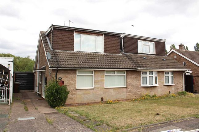 Thumbnail Bungalow for sale in Friesland Drive, Wolverhampton