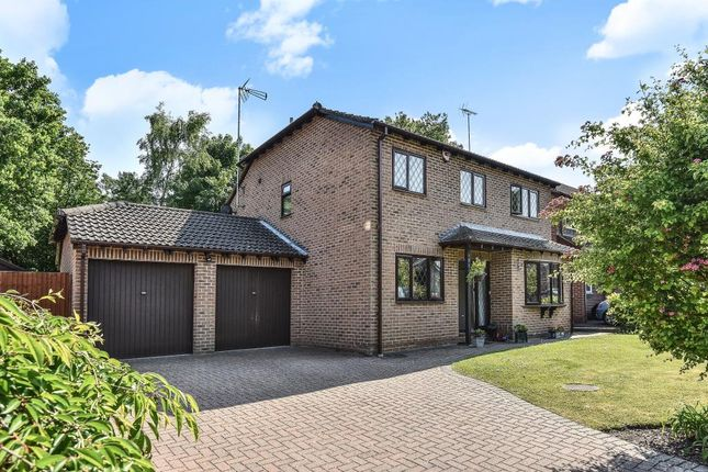 Thumbnail Detached house to rent in Benson Road, Crowthorne