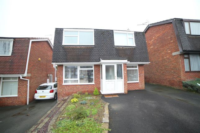 Thumbnail Detached house for sale in St. Michaels Road, Madeley, Telford