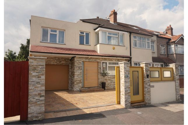 Thumbnail End terrace house for sale in Eldertree Way, Mitcham